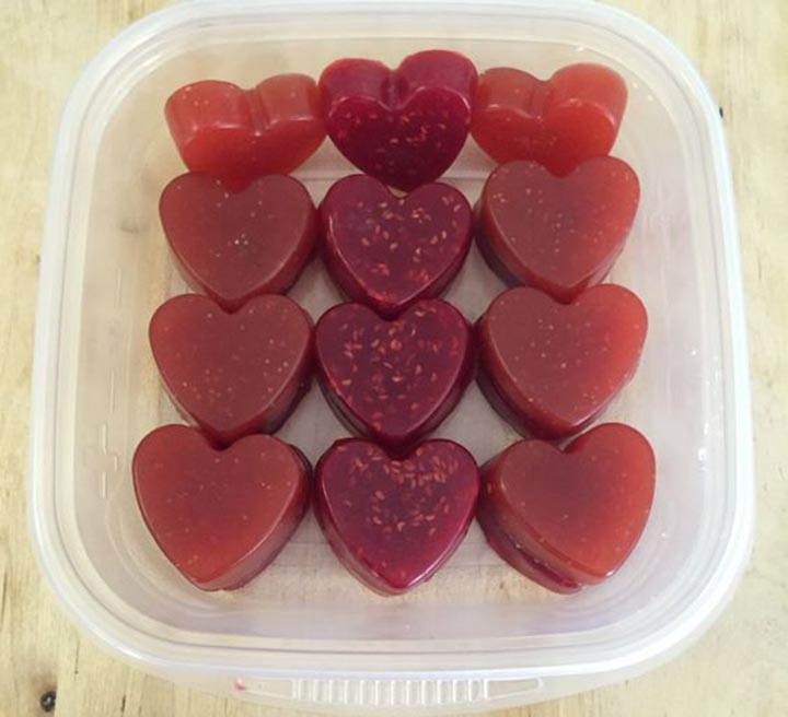 Berry Lemon Gummies, paleo diet, paleo recipes